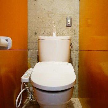 トイレはシャキっと機能的!
