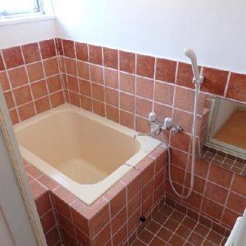 タイルのお風呂!可愛い!