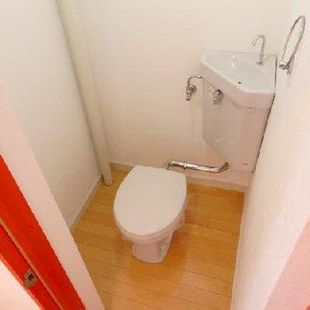 トイレもちょっと旧式のもの