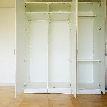 居室の収納は大容量♪
