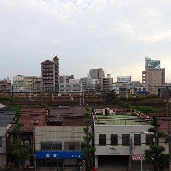 名鉄、新幹線、JRを眺められる場所