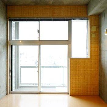 大きな窓で開放感抜群!