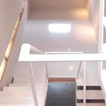 キッチンから上がると次はこちら。2階。