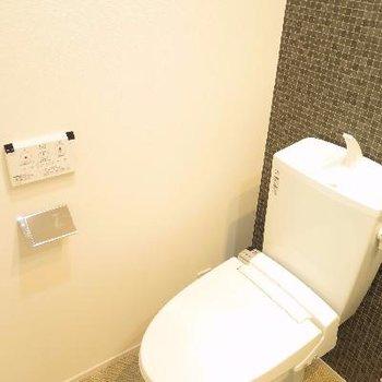 洗面台の横にトイレです