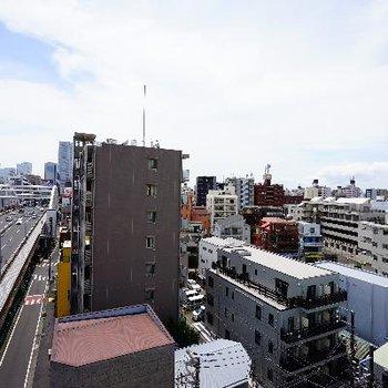 眺望も抜けていて横浜一望!