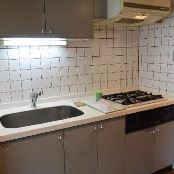 キッチンしっかりスペースあります!