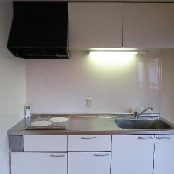 調理スペースのゆとりが嬉しい。