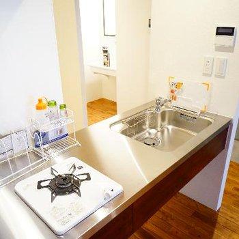 キッチンはオリジナルのデザインです!