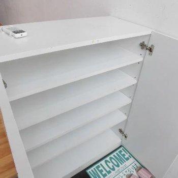 お部屋の収納は全部ホワイト一択です!