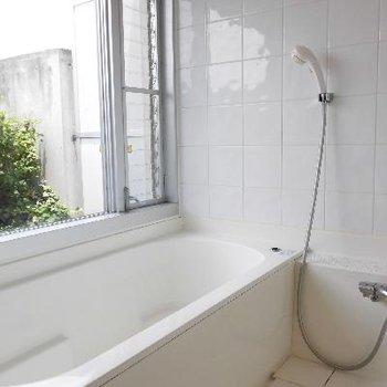 お風呂の開放感!