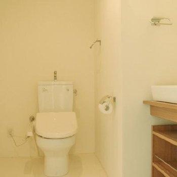 トイレに洗面台があります※写真は別部屋です