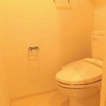 個室トイレは機能的!