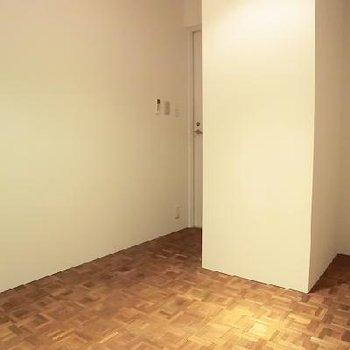 無垢床がやさしい、レッスンルーム。