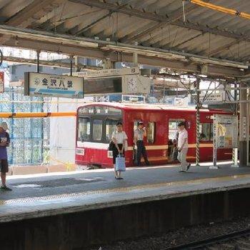 これが噂の赤い電車