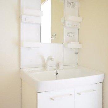 洗面台も使い勝手○