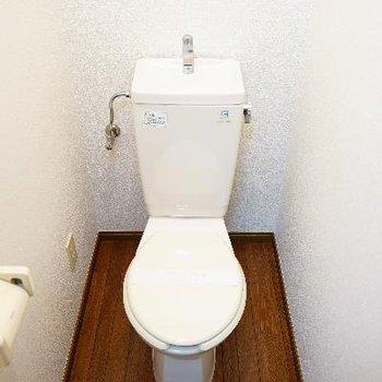 トイレも個室♪