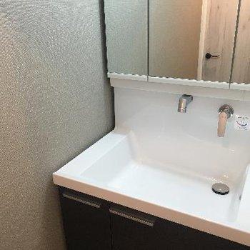 あると嬉しい独立洗面台!