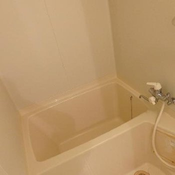 お風呂はこじんまり。
