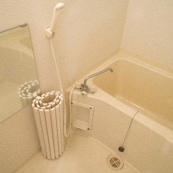 浴槽もしっかり広さがあります。