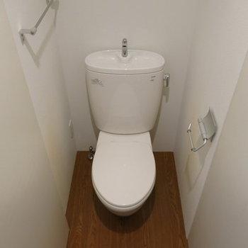 トイレも普通ですね。