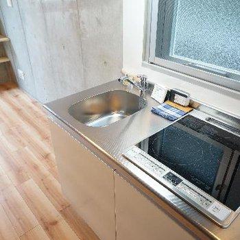 キッチンはIH2口で窓も◎