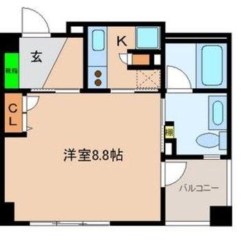 正方形のお部屋って使いやすい♪