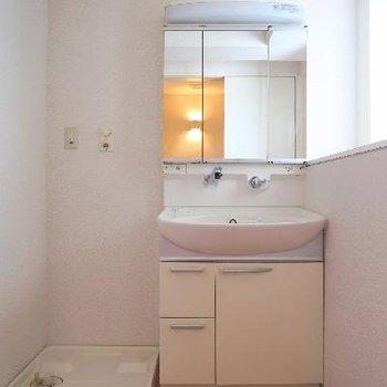 もちろん、独立洗面台だってございます!