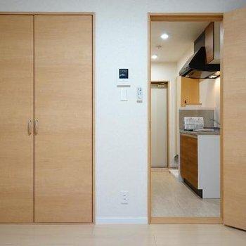 居室と水回りの区別が1Kの良さ♪※写真は同間取り2階