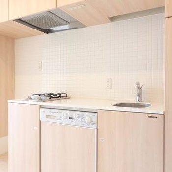 キッチン、2口ガスコンロ!※写真は別のお部屋です