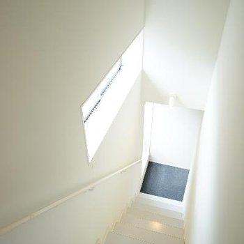 階段を下って3階部へ!