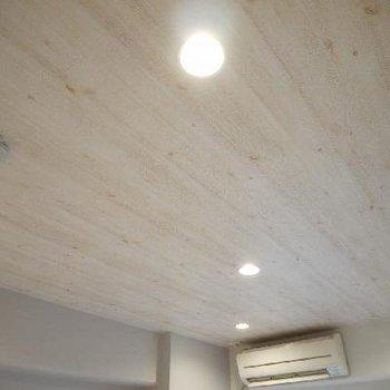 天井のダウンライトはLEDが入ってます!