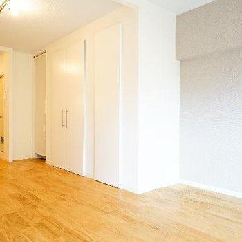 これだけ広いと家具の配置も自由が効きます♪