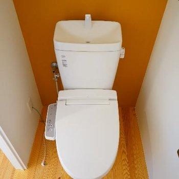 トイレはウォシュレットついてます!※写真は別部屋です