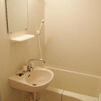 バスルームは二点。きれいです!