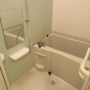 お風呂もぴかぴか※写真は別のお部屋です