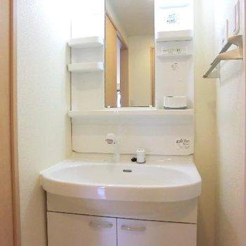 洗面台ももちろんあります。