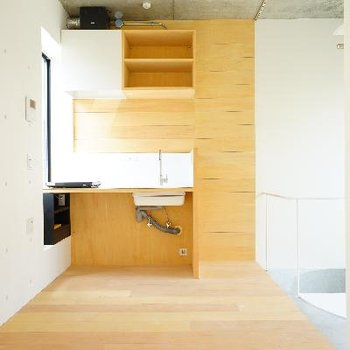 6帖のシンプルな気持ち良いお部屋!