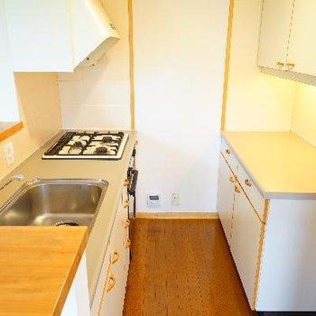 キッチンはこのスペース!使いやすそう!
