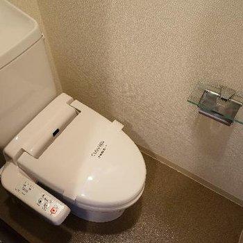 トイレはウォシュレットつき!
