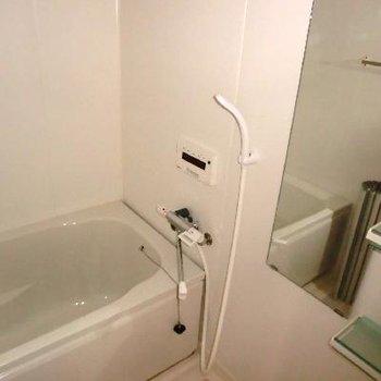 追い焚き、浴室乾燥機付き!!嬉しい。