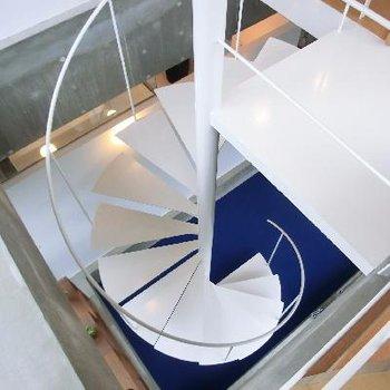 螺旋階段が美しすぎます。