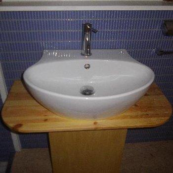 良い意味で意外な洗面台