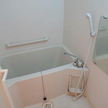 ベランダがないので洗濯物は浴室で