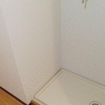 洗濯機も隠れるね♪