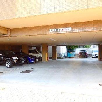 駐車場もあります(月額1.3万+税)