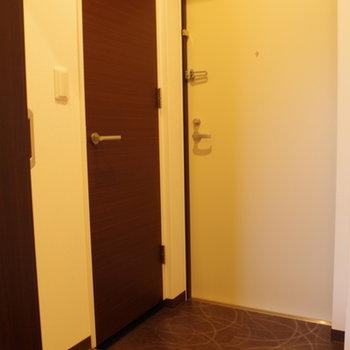 玄関、実は見どころいっぱいです