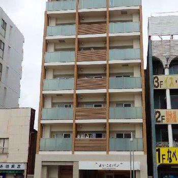 2012年築のまだまだキレイな建物