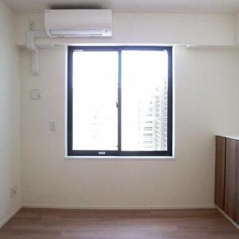 洋室その①こちらの窓からもルーバルへ出れます。