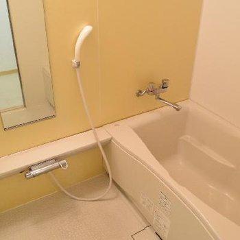 洗い場がひろ〜いお風呂。