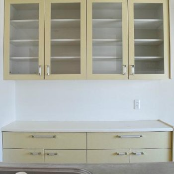 キッチンは収納もたっぷり◎